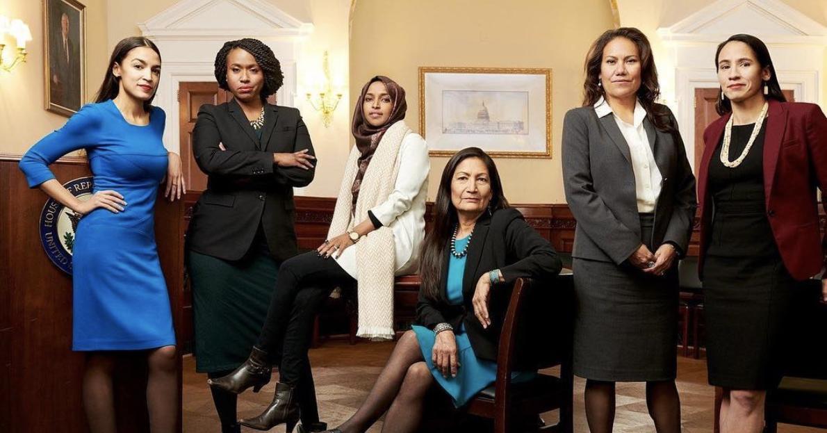 Progressive women of color